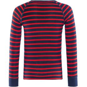 Odlo Active Originals Warm Ondergoed set Kinderen rood/blauw